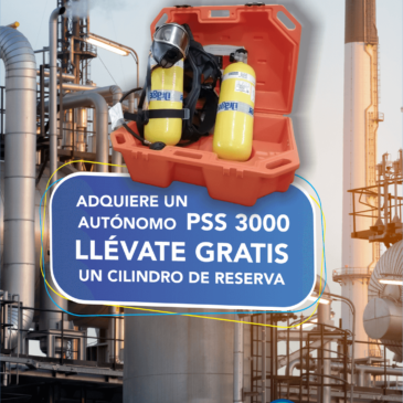 Draeger PSS 3000 SCBA / ERA Promocion Limitada