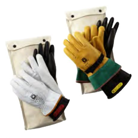 Rubber Electrical Gloves