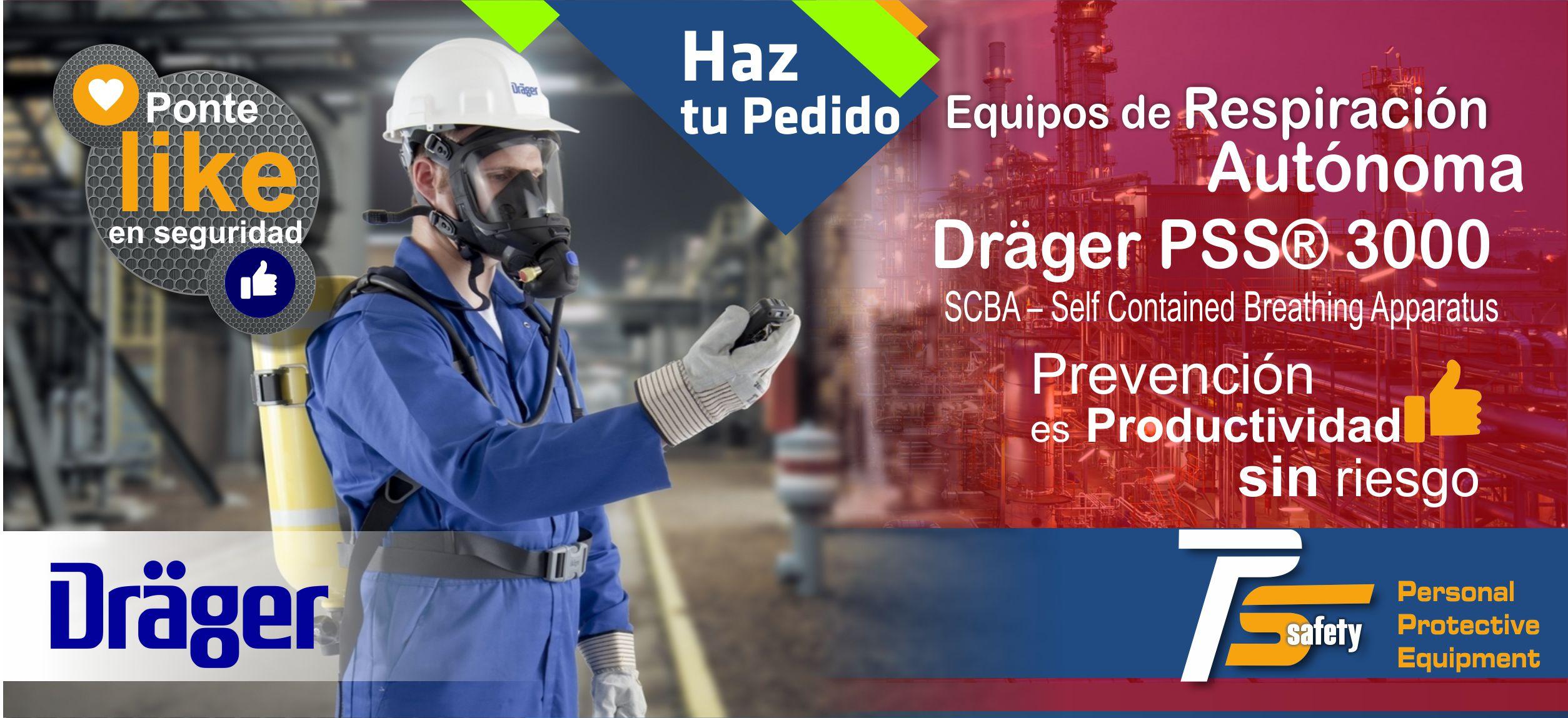 Drager PSS3000 Equipo de Respiracion Autonoma 30 min