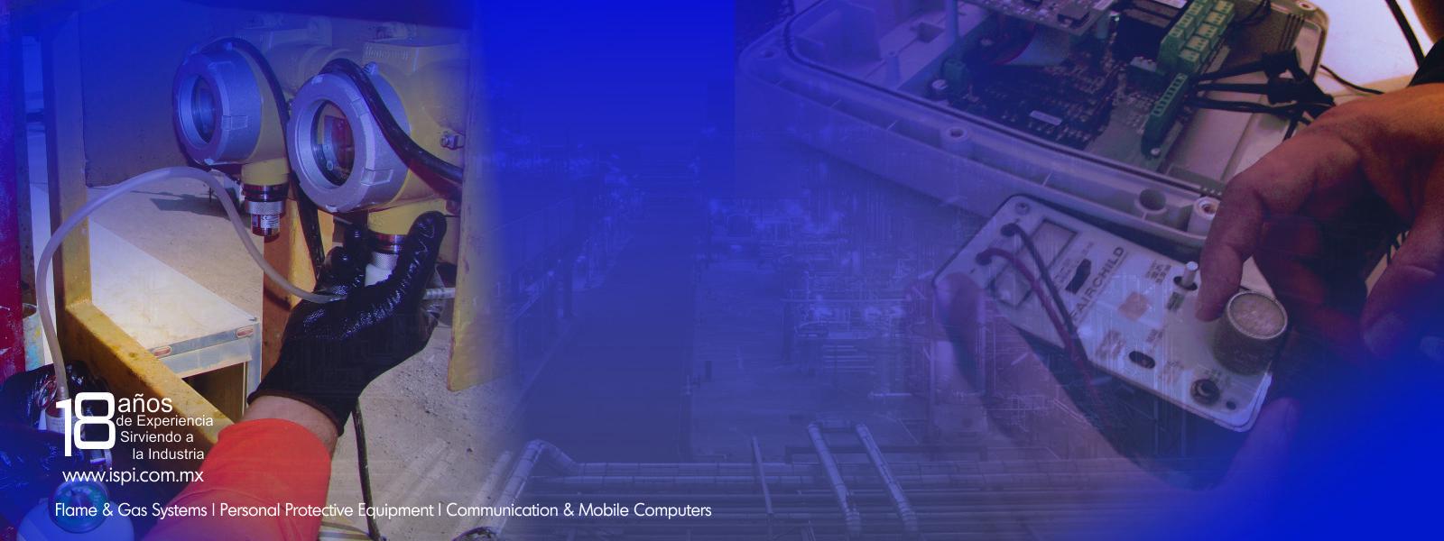 Servicios especializados a monitores de gases toxicos y %lel