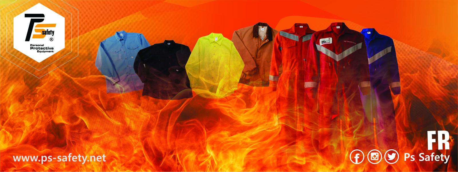 Ropa contra riesgo de arco electrico y fuego repentino