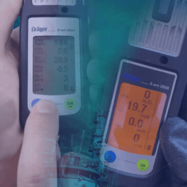 Frecuencia de calibración para un detector de gas