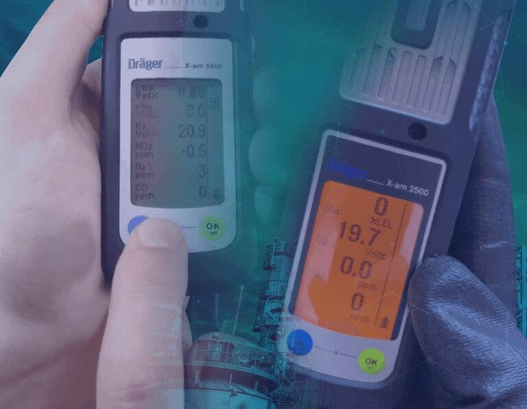 Definición de la frecuencia de calibración para un detector de gas
