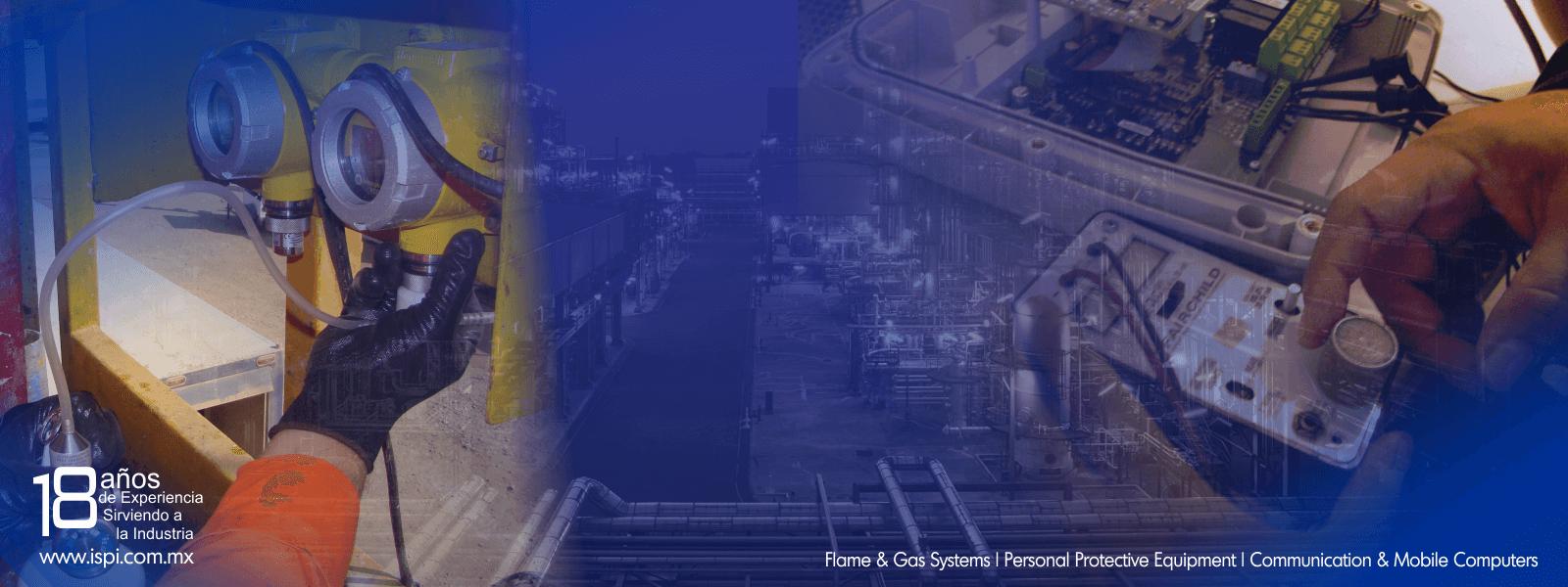 Servicios de calibracion a monitores de gases toxicos y %lel